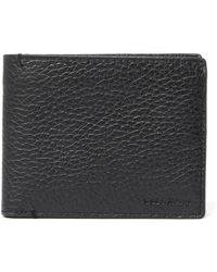 Cole Haan - Pebble Leather Bifold Wallet - Lyst