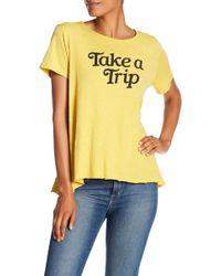 Sundry - Take A Trip Tee - Lyst