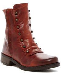 Chocolat Blu - Aiden Leather Moto Boot - Lyst