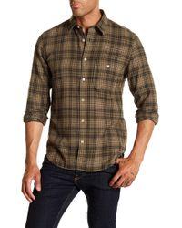 7 For All Mankind - Plaid Vintage Pocket Regular Fit Shirt - Lyst