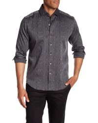 Robert Graham - Christopher Woven Tailored Fit Shirt - Lyst
