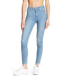 "Levi's | Mile High Super Skinny Jeans - 30"" Inseam | Lyst"