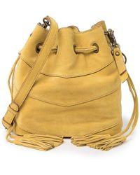 Frye Caden Suede Bucket Bag - Multicolor