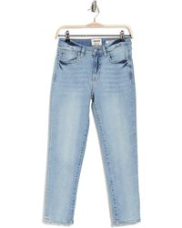 Kensie Classic Mid Rise Jeans - Blue
