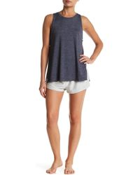 C&C California - Terry Heather Knit Short - Lyst
