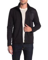 Spyder Raider Full Zip Stand Collar Jacket - Black