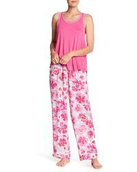 Kensie - Patterned Trousers - Lyst