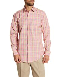 Lands' End - Tailored Fit Shirt - Lyst