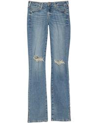 True Religion Billie Straight Leg Jeans - Blue