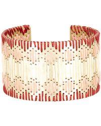 Lucky Brand - Threaded Statement Cuff Bracelet - Lyst