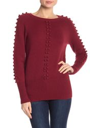 Love Token - Puff Embroidered Sweater - Lyst
