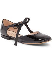 Marc Jacobs - Alyssa Mary Jane Leather Ballet Flat - Lyst