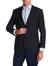 English Laundry - Trim Fit Plaid Sportcoat - Lyst