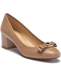 MICHAEL Michael Kors - Caroline Mid Pump (dark Khaki Vintage Leather) Women's 1-2 Inch Heel Shoes - Lyst