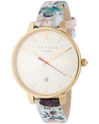 Ted Baker - Women's Kate Strap Watch, 38mm - Lyst