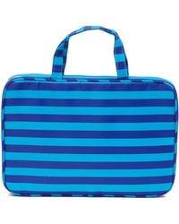 Kestrel - Weekend Bag - Blue Stripes - Lyst