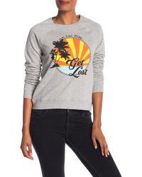 Rebecca Minkoff - Get Lost Graphic Sweatshirt - Lyst