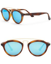 Ray-Ban - Highstreet 50mm Brow Bar Sunglasses - Lyst