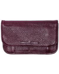 Aimee Kestenberg - Samm Embossed Leather Flap Wallet - Lyst