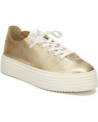 Sam Edelman Pippy Platform Sneaker - Metallic