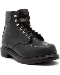 """Red Wing 6"""" Moc Toe Boot - Factory Second - Wide Width Available - Black"""