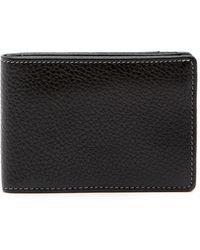 Boconi - Tyler Tumbled Leather Slimster Bifold Wallet - Lyst