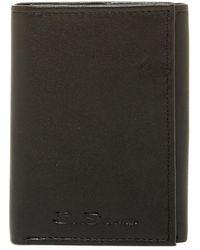 Ben Sherman - Kensington Leather Trifold Wallet - Lyst