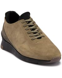 H by Hudson - Sime Suede Trainer - Lyst