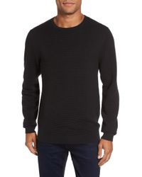 Calibrate | Ottoman Ribbed Crewneck Sweater | Lyst
