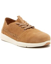 TOMS Del Rey Suede Sneaker - Brown