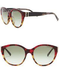 0456f49bfbd4 Lyst - Burberry 59mm Square Sunglasses in Gray