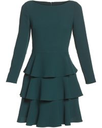 Eliza J - Ruffle Fit & Flare Dress (petite) - Lyst