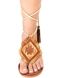 Matisse - Bronte Lace-up Sandal - Lyst