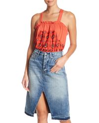 Free People - Love Life Bubble Top - Lyst