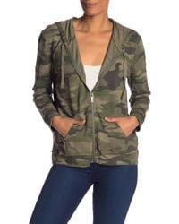Vince Camuto - Avenue Camo Zip-up Jacket - Lyst