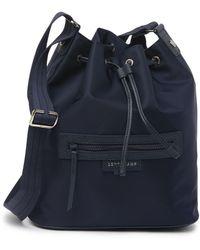 Longchamp Neo Bucket Crossbody Bag In Navy At Nordstrom Rack - Blue