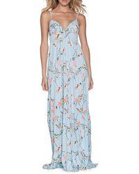 Maaji Crystal Dreams Maxi Dress - Blue