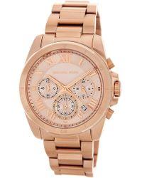MICHAEL Michael Kors - Women's Brecken Chronograph Bracelet Watch, 40mm - Lyst
