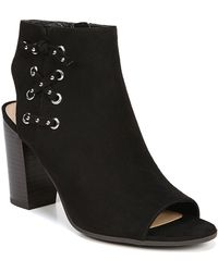a5316009282c27 Circus by Sam Edelman - Edna Laced Block Heel Open Toe Bootie - Lyst