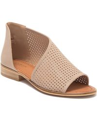 Catherine Malandrino - Replay Perforated D'orsay Angled Sandal - Lyst