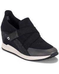BareTraps Johanna Casual Wedge Sneaker - Black