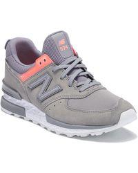 New Balance - 574 Fresh Foam Sneaker - Lyst
