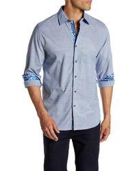 Robert Graham - Slim Fit Long Sleeve Woven Dress Shirt - Lyst