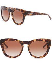Michael Kors - Women's Summer Breeze 50mm Rounded Sunglasses - Lyst