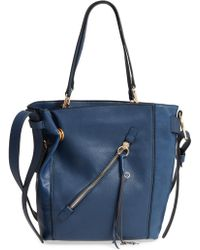 Sondra Roberts - Sr Squared By Faux Leather Tote - Lyst