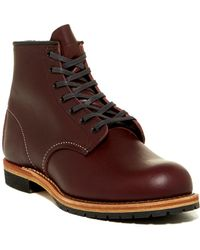 Red Wing Beckman Leather Boot - Factory Second - Wide Width Available - Brown