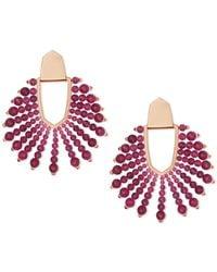 Kendra Scott Diane Beaded Earrings - Multicolor
