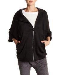 Lime & Vine | Tori Faux Suede Dolman Sleeve Jacket | Lyst