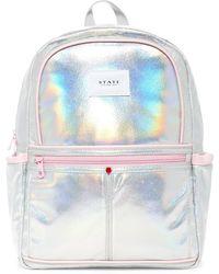 State Bags - Metallic Kane Backpack - Lyst