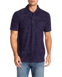 TRUNKS SURF AND SWIM CO - David Solid Terry Polo - Lyst
